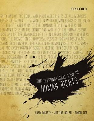 The International Law of Human Rights (BOK)