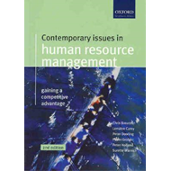 Contemporary Issues in Human Resources Management (BOK)
