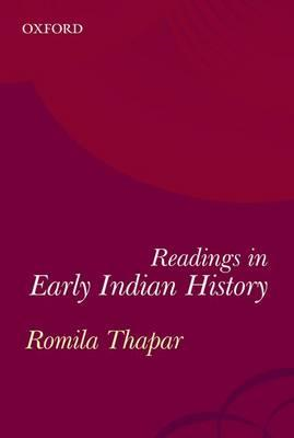 Early Indian History: A Reader (BOK)