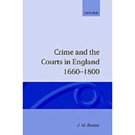 Crime and the Courts in England 1660-1800 (BOK)