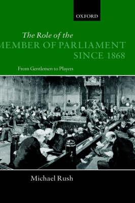 Role of the Member of Parliament Since 1868 (BOK)