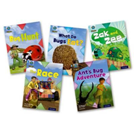 Project X Origins: Light Blue Book Band, Oxford Level 4: Bugs: Mixed Pack of 5 (BOK)