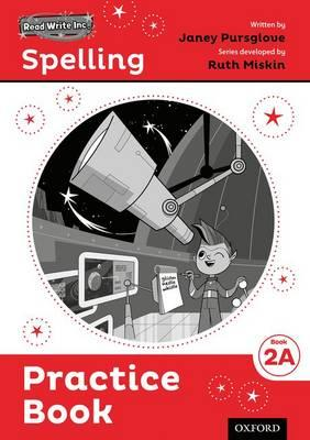 Read Write Inc. Spelling: Practice Book 2A Pack of 5 (BOK)