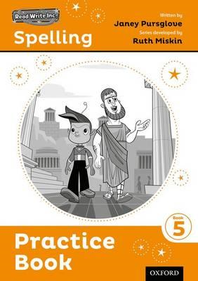 Read Write Inc. Spelling: Practice Book 5 Pack of 5 (BOK)