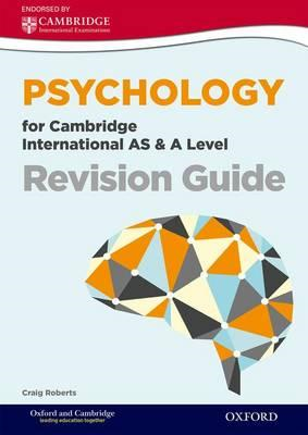 Psychology for Cambridge International AS & A Level Revision (BOK)