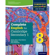 Complete English for Cambridge Secondary 1 Student Book 8 (BOK)
