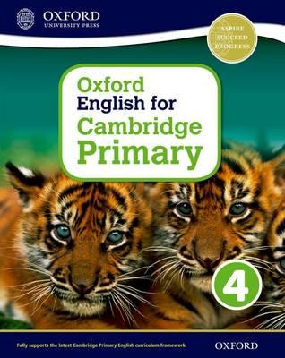 Oxford English for Cambridge Primary Student Book 4 (BOK)