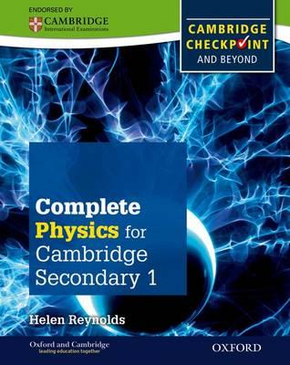 Complete Physics for Cambridge Lower Secondary Student Book (BOK)