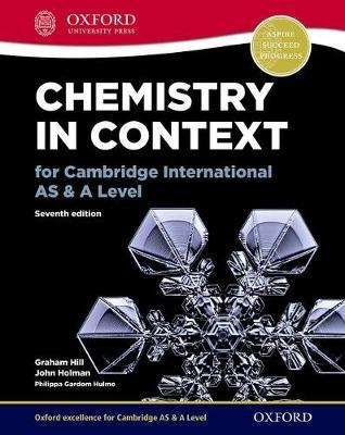 Chemistry in Context for Cambridge International AS & A Leve (BOK)