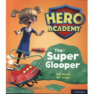 Produktbilde for Hero Academy: Oxford Level 5, Green Book Band: The Super Glo (BOK)