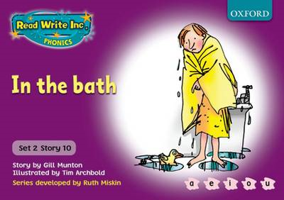 Read Write Inc. Phonics: Purple Set 2 Storybooks: In the Bat (BOK)