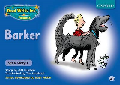 Read Write Inc. Phonics: Blue Set 6 Storybooks: Barker (BOK)