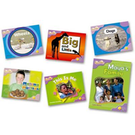 Oxford Reading Tree: Level 1+: Fireflies: Pack (6 Books, 1 o (BOK)