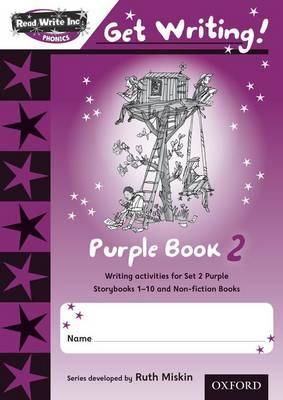 Read Write Inc. Phonics: Get Writing!: Purple 2 Pack of 10 (BOK)
