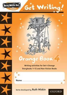 Read Write Inc. Phonics: Get Writing!: Orange 4 Pack of 10 (BOK)