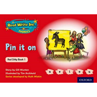 Read Write Inc. Phonics: Red Ditty Book 1 Pin It On (BOK)