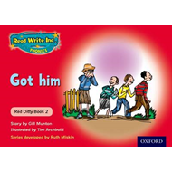 Read Write Inc. Phonics: Red Ditty Book 2 Got Him (BOK)