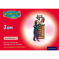 Read Write Inc. Phonics: Red Ditty Book 4 Jam (BOK)
