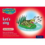 Read Write Inc. Phonics: Red Ditty Book 7 Let's Sing (BOK)