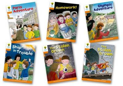Oxford Reading Tree: Stage 6: More Stories B: Pack of 6 (BOK)