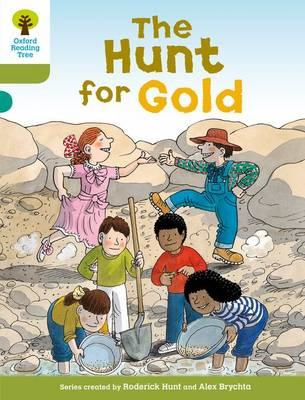 Oxford Reading Tree: Level 7: More Stories A: The Hunt for G (BOK)