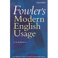 Fowler's Modern English Usage (BOK)