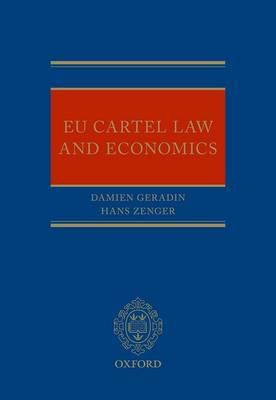 EU Cartel Law and Economics (BOK)