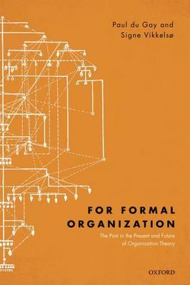 For Formal Organization (BOK)