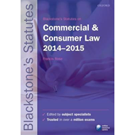 Blackstone's Statutes on Commercial & Consumer Law 2014-2015 (BOK)
