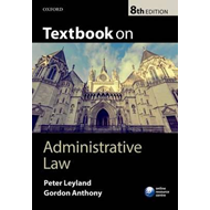 Textbook on Administrative Law (BOK)