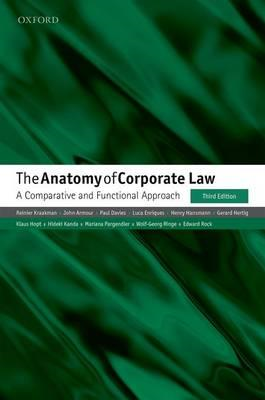Anatomy of Corporate Law (BOK)