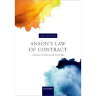 Anson's Law of Contract (BOK)