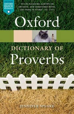 Oxford Dictionary of Proverbs (BOK)