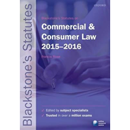 Blackstone's Statutes on Commercial & Consumer Law (BOK)