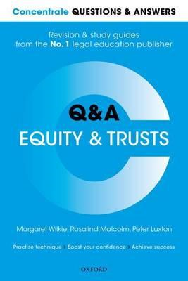 Concentrate Questions and Answers Equity and Trusts (BOK)