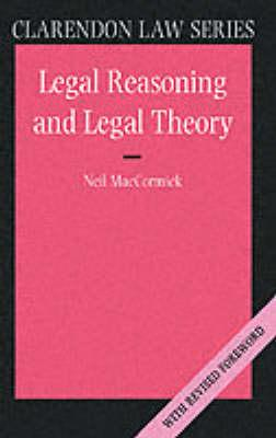 Legal Reasoning and Legal Theory (BOK)