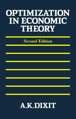 Optimization in Economic Theory (BOK)
