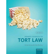 Kidner's Casebook on Torts (BOK)