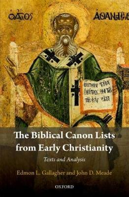 Biblical Canon Lists from Early Christianity (BOK)