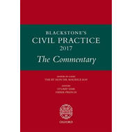 Blackstone's Civil Practice 2017: The Commentary (BOK)