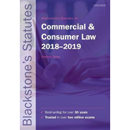 Blackstone's Statutes on Commercial & Consumer Law 2018-2019 (BOK)