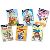 Oxford Reading Tree: All Stars: Pack 1a: Pack (6 Books, 1 of (BOK)