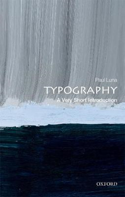 Typography: A Very Short Introduction (BOK)