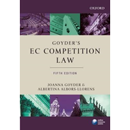 Goyder's EC Competition Law (BOK)