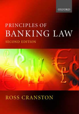Principles of Banking Law (BOK)