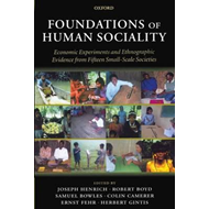 Foundations of Human Sociality (BOK)