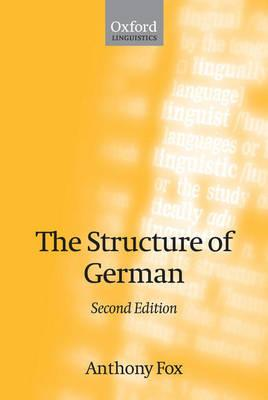 Structure of German (BOK)