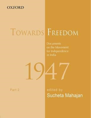 Towards Freedom: Documents on the Movement for Independence (BOK)