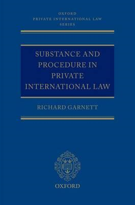 Substance and Procedure in Private International Law (BOK)