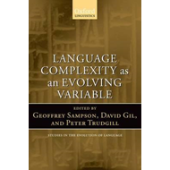 Language Complexity as an Evolving Variable (BOK)